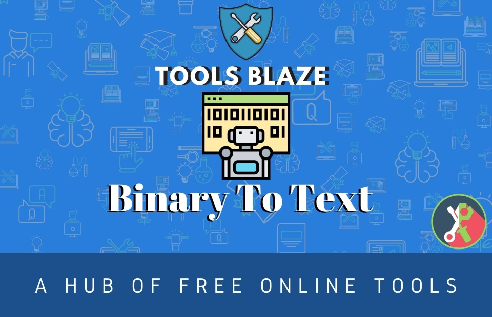convert Binary number to Text