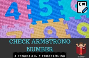 armstrong number in c