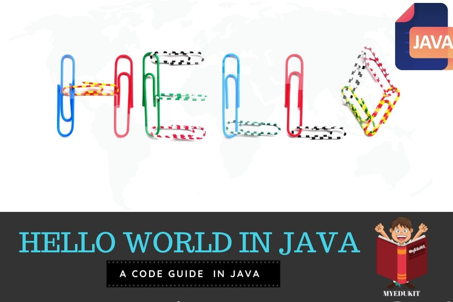 program to print hello world in java