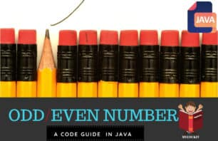odd even program in java