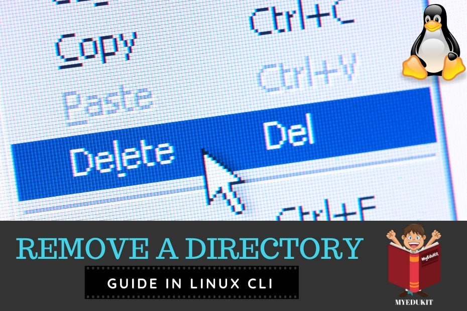 Delete a directory linux